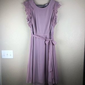 Liliac sheer dress